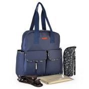 Multi-functional 4 pcs Set Baby Backpack Nappy Bag Tote Bag Mom Bag Large Capacity
