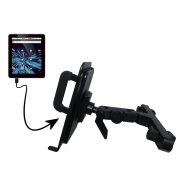 Innovative Headrest Vehicle Mount to Support Elonex 702ET eTouch Android Tablet Tablet by Gomadic