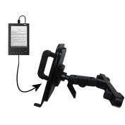Innovative Headrest Vehicle Mount to Support BeBook Mini Tablet by Gomadic