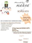 Mahya Cosmetics Bonus Kit - Light