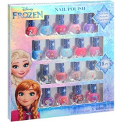 Frozen 18 Piece Non Toxic Peelable Nail Polish Gift Set