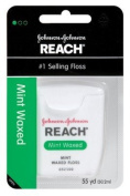 Reach Waxed Floss 55 Yards Mint (Pack of 6) by Reach