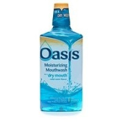 Oasis Moisturising Mouthwash for Dry Mouth, Mild Mint, 470ml - 2pc