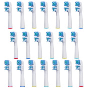 FantasyDay Generic 20 pcs Replacement Brush Heads Compatible with Oral-B Electric Toothbrush - Model SB-417A/EB417-4 - Works with all Oral B Brush Handles