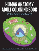 Human Anatomy Adult Coloring Book