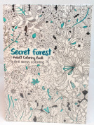 Oceanis Adult and Teen Colouring Book Secret Garden Forest Theme
