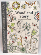 Oceanis Adult and Teen Colouring Book Woodland Story Theme