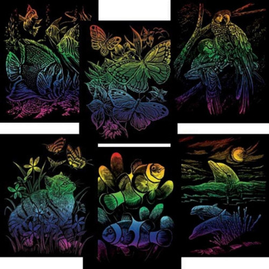 Royal Brush Rainbow Engraving Art Set