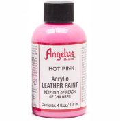 Angelus Leather Paint 120ml Hot Pink