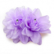 Colourful Bridal Wedding Orchid Flower Hair Clip Barrette Women Girls Accessories