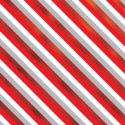 Sweet Stripes Gift Wrap Roll 60cm X 4.6m - Gift Wrapping Paper