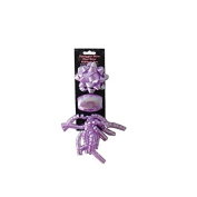 JT Gift Wrapping Purple Gift Wrapping Bow and Ribbon Set - 24 Pack