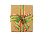 The Gift Wrap Company Seasonally Striped Woven Ribbon