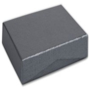 Slate Ribbed Pop-Up Boxes, 4 5/8 x 3 3/8 x 5/8