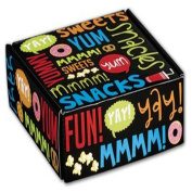 Snack Attack Decorative Mailers, 6 x 15cm x 5.1cm