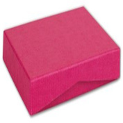 Pink Ribbed Pop-Up Boxes, 4 5/8 x 3 3/8 x 5/8