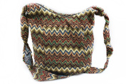 K'Long Brocade - Women Large Cross Body Shoulder Handbags/Purse (Brocade Fabric) …