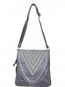 Zzfab Rhinestone Stud Sparkle Cross Body