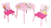 Liberty House Toys MZ4244 Princess Round Table with 2 Chair Set