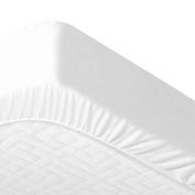 Waterproof and Breathable Mattress Protector For Cot or Cotbed 70 x 140 cm, COTTON, white