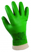 Glove Pvc W/Elastic Cuff Lrg
