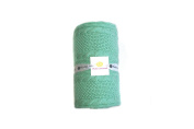 Cable Mix - Light Green - Baby Blanket by Pink Lemonade - 100% Cotton