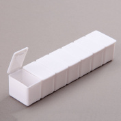 1pc Weekly Pills Medicine Holder Organiser 7 Day Tablet Box Dispenser Container Case