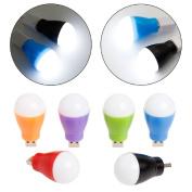 Kocome Portable DC 5V 5W LED Bulb USB White Light Lamp For Laptop Computer Reading