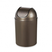 Umbra Flip Champ 9.5l Wastebasket in Champagne