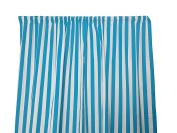 Zen Creative Designs Premium Cotton 2.5cm Stripes Curtain Panel / Home Decor / Window Treatments / Kitchen / Living Room / Bed Room / Stripes / Lines