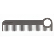 Beard Comb - Classic Model No.1 - Stainless Steel Grooming Tool