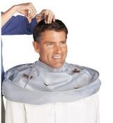 Cloak Umbrella Cape for Salon Barber Use at Home or Salon Adult Size Colour Silvery