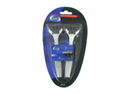 Bulk Buys BE099-96 Mens Quadruple Blade Disposable Razors