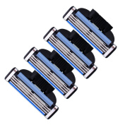 4 Blades For Gillette MACH 3 Razor Shaving Shaver Trimmer Refills Cartridges RB1