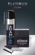Adam Platinum Club Gift Set, 50ml After Shave + 200ml Shaving Gel