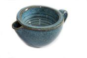 korium Shaving Scuttle Blue - handmade ceramics