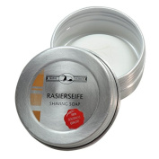 60 gramme GOLDDACHS Shaving Soap in Aluminium Travel Box