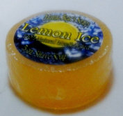 Lemon Ice 100% Natural Mentholated Shave Soap with Italian Lemon Essential Oil