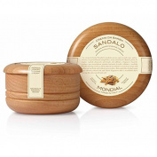 Sandalwood Shave Soap in Bowl 150ml shave cream by Mondial