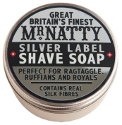 Silver Label Hard Shave Soap 80ml shave soap by Mr. Natty