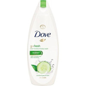 2 Pack of Doves go fresh Cucumber and Green Tea Body Wash, 650ml ea