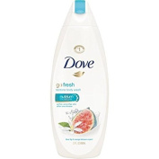 2 Pack of Doves go fresh Blue Fig and Orange Blossom Body Wash, 650ml ea