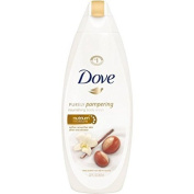 2 Pack of Doves Purely Pampering Shea Butter Body Wash, 650ml ea
