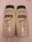 2x Total - Silkience Spa Haus - Paraben Free Body Wash Oatmeal & Shea Butter - 470ml