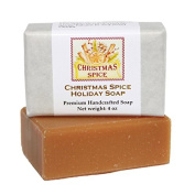 Handcrafted Christmas Spice 120ml Bar Soap