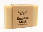 Egyptian Musk Handmade Soap- All Veggie with Hemp Seed Oil