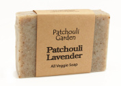 Patchouli Lavender Handmade Soap- All Veggie with Hemp Seed Oil