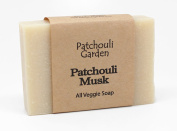 Patchouli Musk Handmade Soap- All Veggie with Hemp Seed Oil