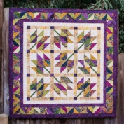 Pattern~Leaf it to Me Designed for 6.4cm Strips- Five Sizes~ Cosy Quilt Design