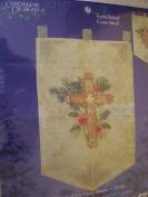Tidings of Joy Cross Banner Embellished Cross Stitch Kit